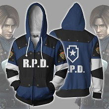 Resident Evil Leon Scott Kennedy 3D printing hoodie sweater cloth