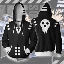 Soul Eater anime 3D printing hoodie sweater cloth