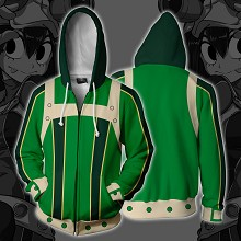 My Hero Academia anime 3D printing hoodie sweater cloth
