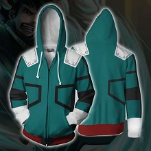 My Hero Academia anime 3D printing hoodie sweater ...