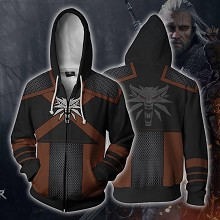 The Witcher 3D printing hoodie sweater cloth