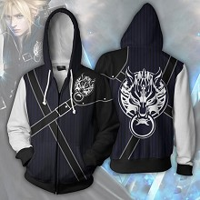Final Fantasy 3D printing hoodie sweater cloth