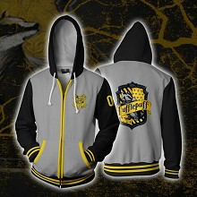 Harry Potter Hufflepuff 3D printing hoodie sweater...