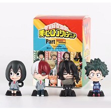 My Hero Academia anime figures set(4pcs a set)