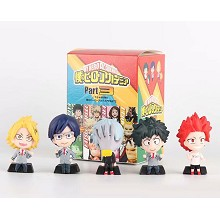 My Hero Academia anime figures set(5pcs a set)