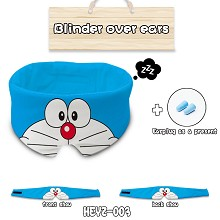 Doraemon anime eye path blinder over ears a set