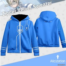 Sword Art Online Alicization thick hoodie sweater ...