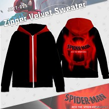 Spider Man thick hoodie sweater cloth