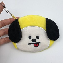 BTS CHIMMY plush wallet coin purse