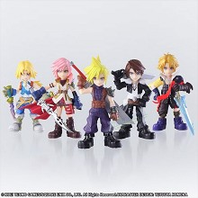 Final Fantasy figures set(5pcs a set)