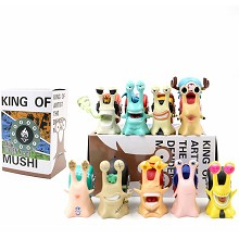 One Piece Den Den Mushi anime figures set(9pcs a s...