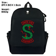 Riverdale canvas backpack bag