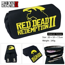 Red Dead Redemption canvas pen bag pencil bag