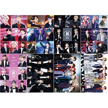 BTS star posters set(8pcs a set)