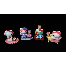 Hello kitty figures set(4pcs a set)