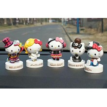 Hello kitty figures set(5pcs a set)