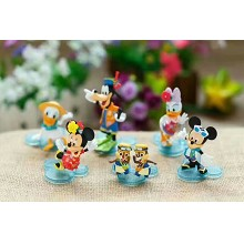 Mickey  anime figures set(6pcs a set)