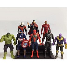 The Avengers figures set(8pcs a set)