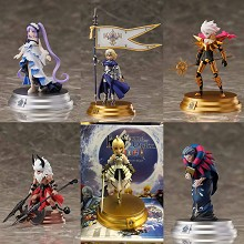 Fate anime figures set(6pcs a set)