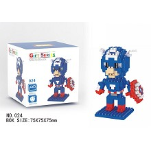 The Avengers Captain America Building Blocks 210PC...
