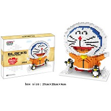 Doraemon anime Building Blocks 2180PCS
