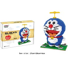 Doraemon anime Building Blocks 2070PCS