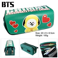 BTS pen bag pencil bag