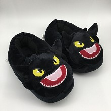 How to Train Your Dragon plush shoes slippers a pa...