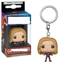 Funko POP Captain Marvel figure doll key chain