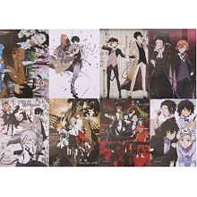 Bungo Stray Dogs anime posters set(8pcs a set)