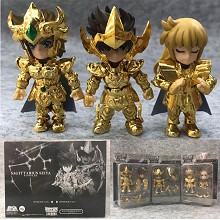 Saint Seiya anime figures set(3pcs a set)