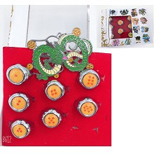 Dragon Ball anime rings set(7pcs a set)