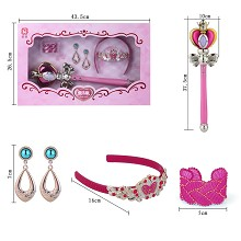 Sailor Moon anime magic wand and Jewelry accessori...