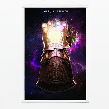 The Avengers movie wall scroll