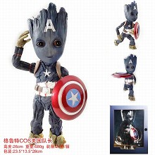 Guarians of the Gaaxy 2 Groot cos Captain America ...