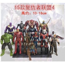 The Avengers movie figures set(15pcs a set)