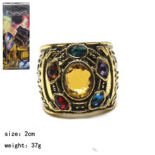 The Avengers Thanos movie ring