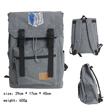 Attack on Titan anime backpack bag