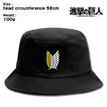 Attack on Titan anime bucket hat cap