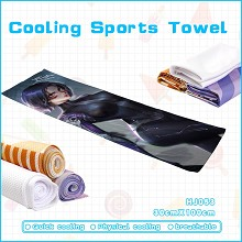 Alita Battle Angel movie cooling sports towel
