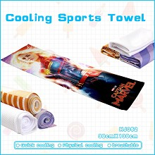 Captain Marvel cooling sports towel