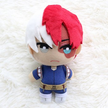 6inches My Hero Academia Todoroki Shoto anime plush doll