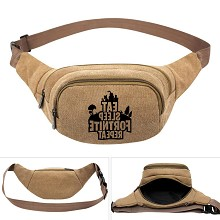 Fortnite game canvas pocket waist pack bag