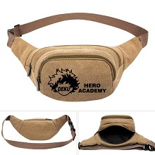 My Hero Academia anime canvas pocket waist pack bag
