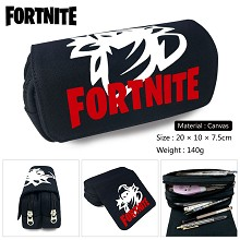 Fortnite game canvas pen bag pencil bag