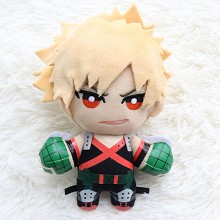 6inches My Hero Academia Bakugou Katsuki anime plush doll