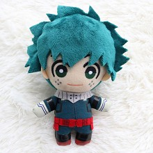 6inches My Hero Academia Midoriya Izuku anime plush doll