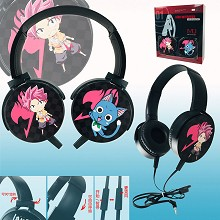 Fairy Tail anime headphone