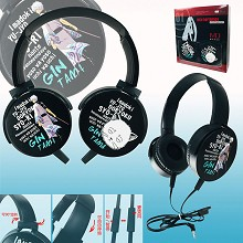 Gintama anime headphone