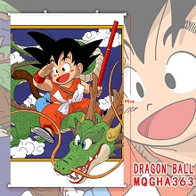 Dragon Ball anime wall scroll